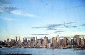 Photo new york cityscape skyline, usa — Stock Photo