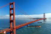 El puente del golden gate en san francisco, estados unidos — Foto de Stock