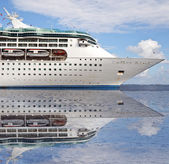 Ocean sea cruise ship — Stock Photo