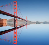 Puente golden gate en san francisco — Foto de Stock