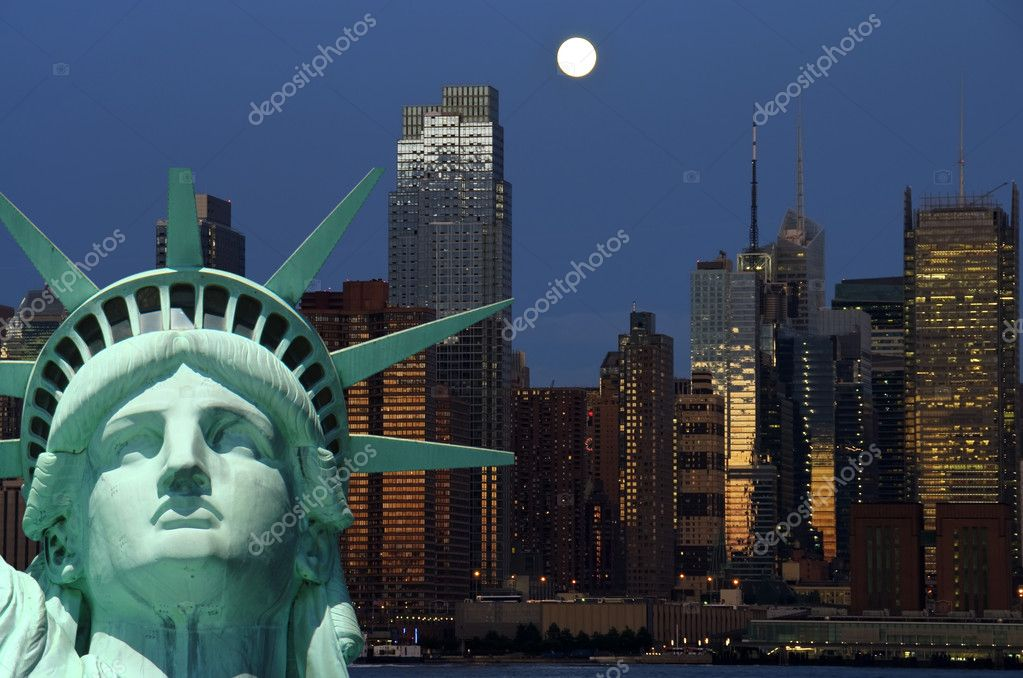 New york cityscape, tourism concept photograph — Stock Photo #3958150