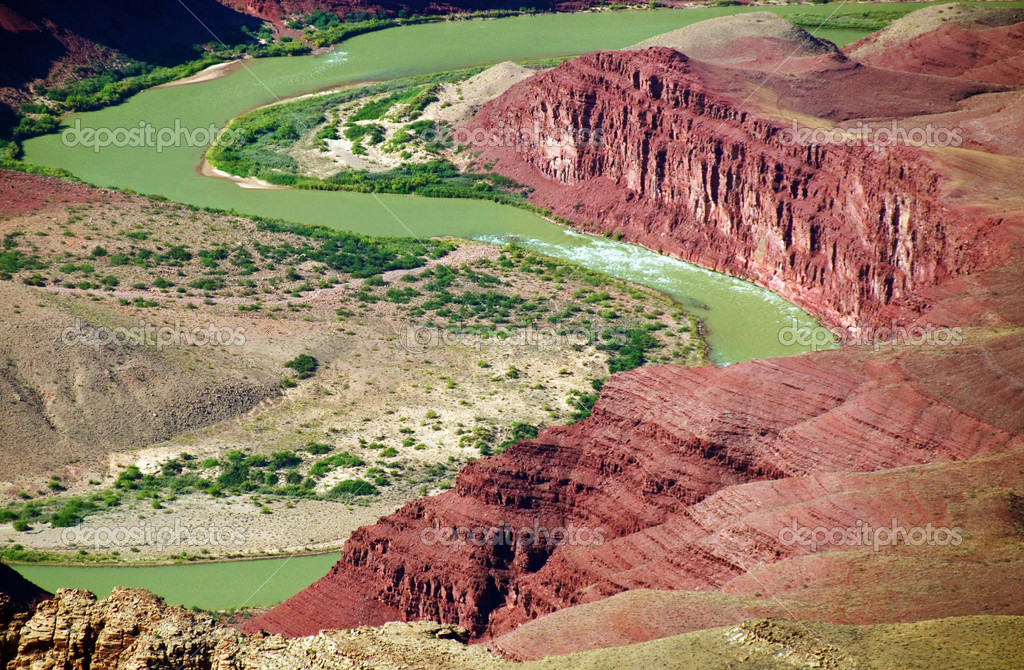 Grand canyon national park colorado river landscape, arizona, usa  Stock Photo #3958365