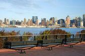 Capture de new york city skyline en après-midi — Photo