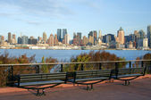Capture of new york city skyline at afternoon — Photo