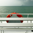 Red buoy — Stock Photo