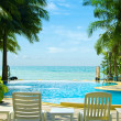 Tropical resort - Stock Photo