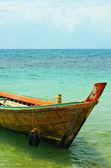 Longtail tekne — Stok fotoğraf