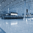 beijing internationl airport — Stock Photo