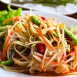 Stock Photo: Thai papaya salad