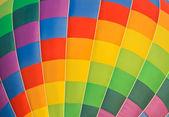 Colorful hot air balloon — Stock Photo