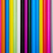 Abstract multicolored drinking straws — Stock Photo #3967344