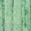 Royalty-Free Stock Photo: Old weathered wooden planks texture painted green