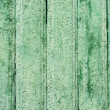 Old weathered wooden planks texture painted green — Stock Photo
