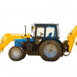 Wheeled tractor - Stock Photo