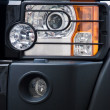 Royalty-Free Stock Photo: Car headlights