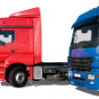 Stock Photo: Two trucks