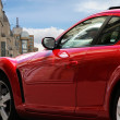 Red Sport Car — Stock Photo