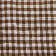 Cotton checkered fabric - Foto Stock