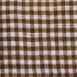Cotton checkered fabric - Stock Photo