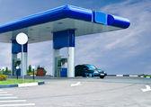 Gas refuel station — Stock Photo