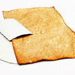 Stock Photo: Old stained paper