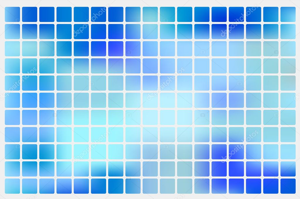Vector abstract blue grid background  Stock Vector #4442989