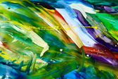 Abstract chaos painting — Stock Photo
