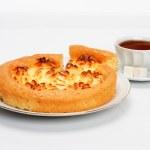 Delicious cheese pie — Stock Photo #4970360