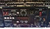 Retro russian helicopter dashboard — Stock Photo