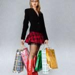Shopping girl — Stock Photo #5179872