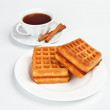 Wafer biscuits - Stock Photo