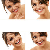 Happy smiling woman — Stock Photo