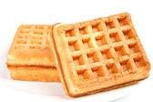 Gofret bisküvi — Stok fotoğraf