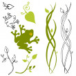 Nature Design Elements - Stock Vector