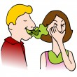 Bad Breath - Stock Vector
