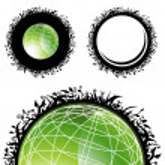 Healthy Planet — Stock Vector
