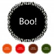 Royalty-Free Stock Vektorfiler: Halloween Icons