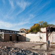 Demolition of an Old HIgh School Building — Stock Photo #4082967