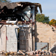 Demolition of an Old HIgh School Building — Stock Photo #4082972
