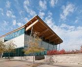 Community Swimming Pool Building — Stock Photo