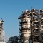 Petrochemical Refinery Plant — Stock Photo