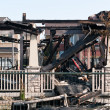 Stockfoto: Aftermath of House Fire