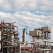 Stock Photo: Petrochemical Refinery Plant