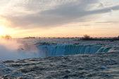 Horseshoe Falls at Sunrise — Zdjęcie stockowe