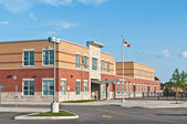 New Canadian Elementary School Building — Stock Photo