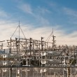 Stock Photo: Transformer Station - Electrical Substation