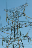 Electrical Transmission Tower(Electricity Pylon) — Stock Photo
