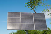 Sulight Reflecting on Solar Panel — Stock Photo