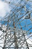 Electrical Transmission Tower(Electricity Pylon) — Stock fotografie