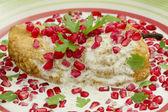 Chile Nogada Mexican Dish — Stock Photo